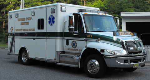 Division of EMS Ambulance 21-1